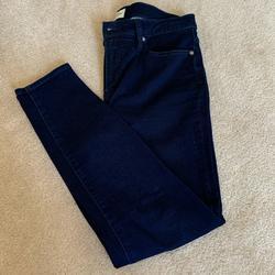 J. Crew Jeans | J.Crew Skinny Jeans In Navy Dyed Denim | Color: Blue | Size: 31