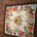 Gucci Accessories | Gucci Authentic Silk Scarf Flora And Fauna | Color: Brown/Red | Size: Os