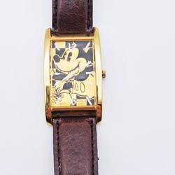 Disney Accessories | Disney X Lorus Mickey Orange Watch | Color: Brown/Orange | Size: Os