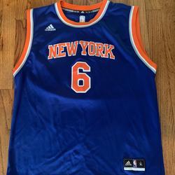Adidas Shirts & Tops | Kristaps Porzingis New York Knicks Jersey | Color: Blue | Size: Xlb