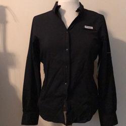 Columbia Tops | Columbia Ls Tamiami Fishing Shirt | Color: Black | Size: Xs