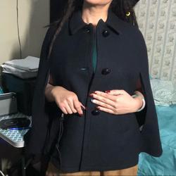 Kate Spade Jackets & Coats   Kate Spade Wool Coat Cape Capelet Blk Bow Jacket   Color: Black   Size: Xxs