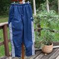 Adidas Pants   Mens Adidas Blue Lined Track Pant Size Medium   Color: Blue/White   Size: M