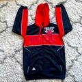 Adidas Shirts   Mens Adidas Chicago Bulls Zip-Up Hoodie Size S   Color: Black/Red   Size: S