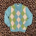 J. Crew Sweaters | J. Crew Blue & Green Plaid Jackie Cardigan || Xs | Color: Blue/Green | Size: Xs