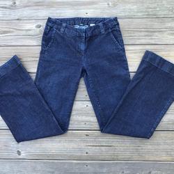 J. Crew Jeans   J. Crew Women Jeans Blue Denim Jeans Boot Cut Size   Color: Blue   Size: 6