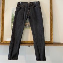 J. Crew Jeans   J Crew Jeans Urban Slim 32x32 Denim Zip Dark Wash   Color: Blue   Size: 32