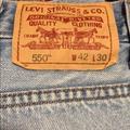 Levi's Jeans | Levis Denim Brand Jeans 550 Relaxed Fit Jeans | Color: Blue | Size: 42