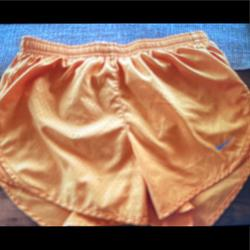 Nike Shorts | Nike Womens Dry Tempi Core Running Shorts | Color: Orange/Silver | Size: Xs