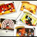 Disney Toys | Disney Collectible Trading Cards (3 Sets Total) | Color: Red | Size: Trading Card Standard Size