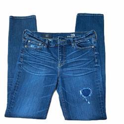J. Crew Jeans   J Crew Reid Cone Denim Skinny Straight Leg Jean 29   Color: Blue   Size: 29