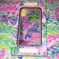 Lilly Pulitzer Accessories   Lilly Pulitzer Mermaid In The Shade Iphone Case   Color: Blue/Purple   Size: Xxs