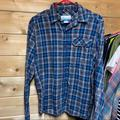 Columbia Shirts   Columbia Small Columbia Flannel Blue Button Up   Color: Blue/Gray   Size: S