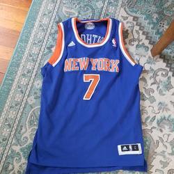 Adidas Shirts & Tops   New York Knicks Jersey   Color: Blue/Orange   Size: Lb