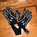 Under Armour Other   Boys: Under Armour Linemen Football Gloves   Color: Black/White   Size: Os