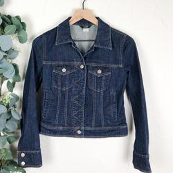 J. Crew Jackets & Coats | J. Crew Classic Denim Jean Jacket Size Xs | Color: Blue | Size: Xs