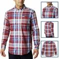 Columbia Shirts | Columbia Mens Long Sleeve Shirt Rapid Rivers Ii | Color: Red | Size: 2xl