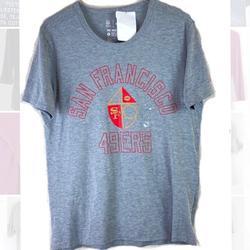 Nike Shirts | Nike Mens Tee San Francisco 49ers Logo T-Shirt | Color: Gray | Size: L
