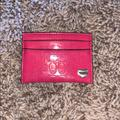 Coach Accessories | Coach Card Holder | Color: Pink | Size: Card Holder