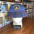 Disney Accessories | Mickey Mouse Blue Plaid Hat | Color: Blue | Size: Os