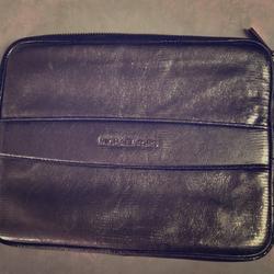 Michael Kors Accessories | Matallic Silver Ipad Case - Michael Kors | Color: Silver | Size: Os