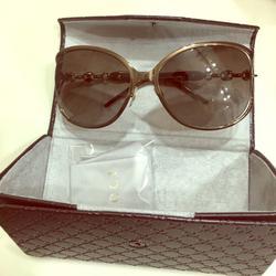Gucci Accessories | Gucci Woman Sunglasses | Color: Brown/Gold | Size: Os
