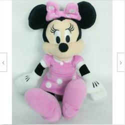 Disney Bedding | Disney Minnie Mouse Just Play Plush 10 | Color: Pink/White | Size: 10