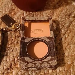 Coach Accessories   Coach I Pod Case   Color: Brown   Size: Os