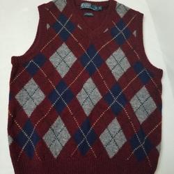 Polo By Ralph Lauren Sweaters | Men'S Vest | Color: Blue/Gray | Size: S
