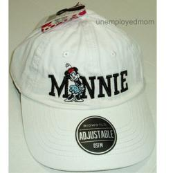Disney Accessories   Minnie Mouse Baseball Cap Hat Women Adult Nwt   Color: Black/White   Size: Os