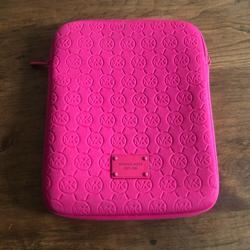 Michael Kors Accessories   Michael Kors Ipad Sleeve Case   Color: Pink   Size: Os