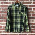Columbia Shirts | Mens Columbia Omni-Wick Flannel Long Sleeve Shirt | Color: Black/Green | Size: S