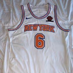 Nike Shirts   Official Nike New York Knicks Jersey   Color: Orange/White   Size: Xl