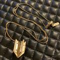 Madewell Jewelry | Madewell 1937 Two Tone Arrow Pendent Necklace | Color: Gold/Silver | Size: Os