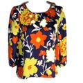 J. Crew Tops   J. Crew Women'S Blouse Top Shirt Size 0 Floral   Color: Orange/Yellow   Size: 0