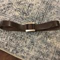 J. Crew Accessories | J. Crew Leather Belt | Color: Brown | Size: Small