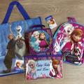 Disney Toys | Frozen Mini Lunchbox Mini Backpack Pencil Bundle | Color: Purple | Size: Osg