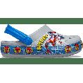 Crocs Light Grey Kids' Crocs Fun Lab Spider-Man Lights Clog Shoes