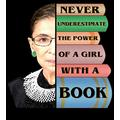 "2 Pcs 8""X12"" in Metal Signs RBG Never Underestimate Ruth Bader Ginsburg Poster"