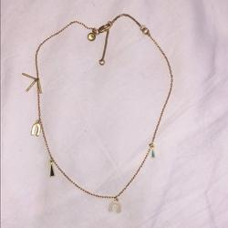 Madewell Jewelry   Madewell Dangly Necklace   Color: Gold   Size: Os