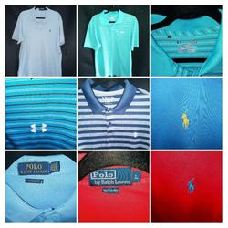 Polo By Ralph Lauren Shirts   Golf Shirts Polo Shirts   Color: Blue/Red   Size: Various