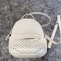 American Eagle Outfitters Bags | American Eagle Small Backpack | Color: White | Size: Small