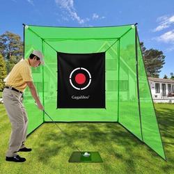 Galileo 5' x 6' Net Target Fabric Golf Fabric in White, Size 60.0 W x 72.0 D in   Wayfair GA-0005-1