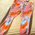 Nike Pants & Jumpsuits | Nike Dry Fit Xxl New With Tag Cropped Leggings | Color: Pink/Red | Size: Xxl