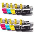 LC3013 LC3013XL Brother LC 3013 XL Compatible Ink cartridges Replacement for Brother MFC-J491DW Brother MFC-J497DW Brother MFC-J690DW Brother MFC-J895DW Printer 10-Pack