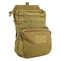 MOLLE Hydration Pack, 3L Tactical Water Pack 1000D Nylon Military Vest Hydration Backpack Outdoor Hydration Carrier