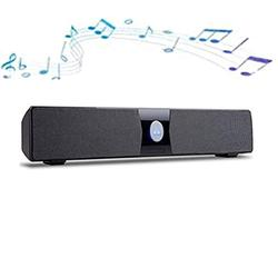 FACAZ Soundbar, Stereo Soundbar 2.0 Subwoofer Inside, Strong Bass Wired and Wireless Bluetooth Audio Speakers for TV Surround Sound System for TV