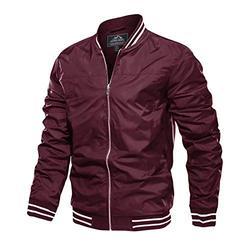 Mens Lightweight Jacket Varsity Jacket Men Bomber Jacket Baseball Jacket Men Lightweight Jacket Casual Jacket Aviator Jackets Letterman Jacket Windbreaker Jacket