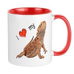 CafePress I Luv My Bearded Dragon Mug Unique Coffee Mug, Coffee Cup