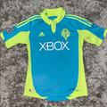 Adidas Shirts | Adidas Seattle Sounders Fc Jersey | Color: Blue/Yellow | Size: S